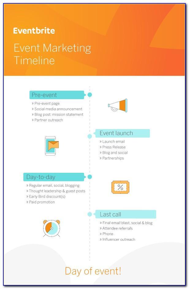 Event Marketing Timeline Template
