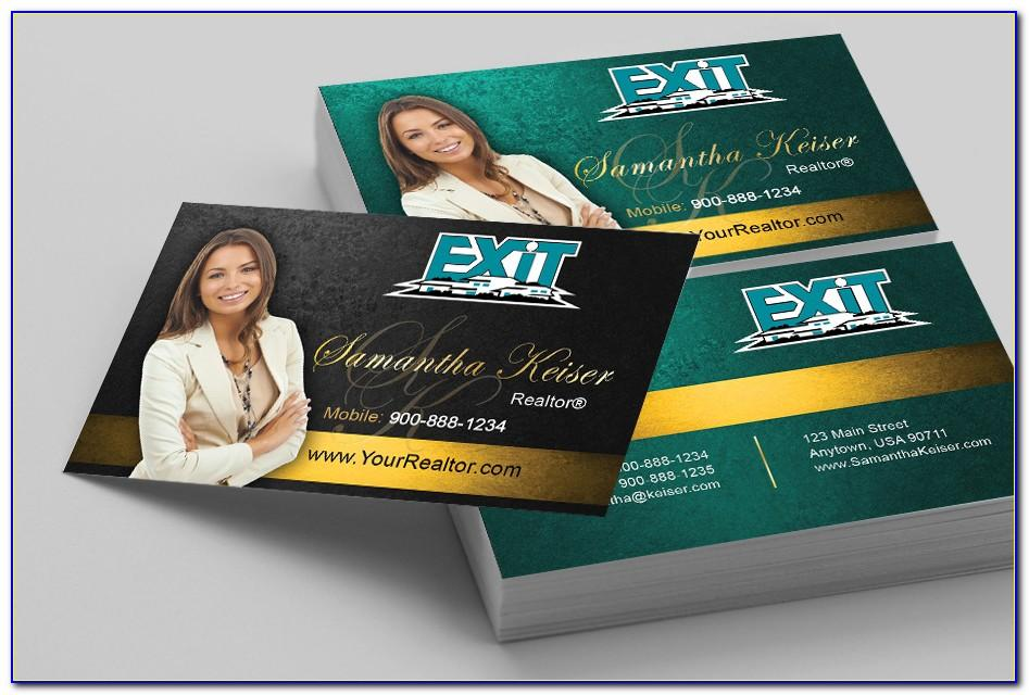 Exit Realty Business Cards Template