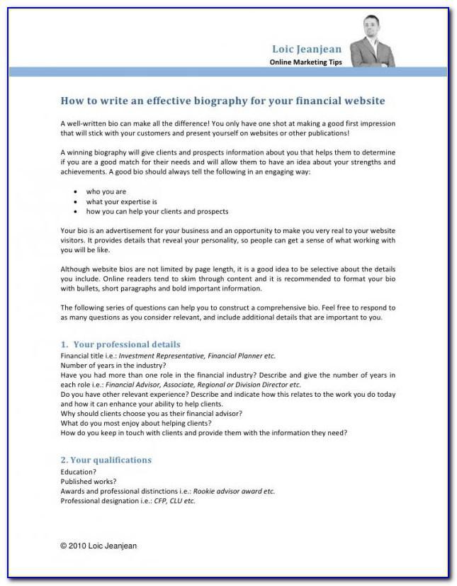 Financial Advisor Business Continuity Plan Template