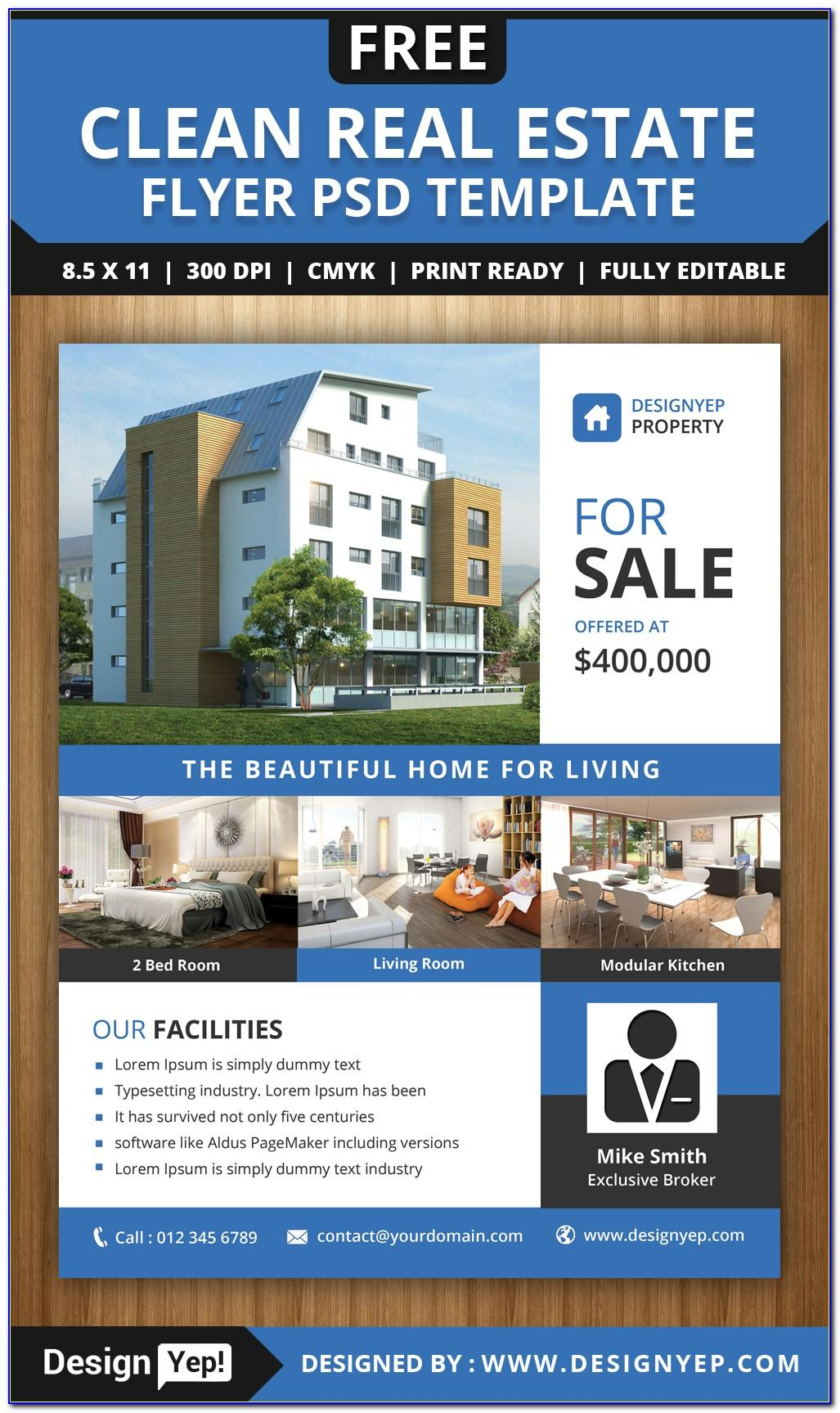 Flyer Templates For Real Estate Agents