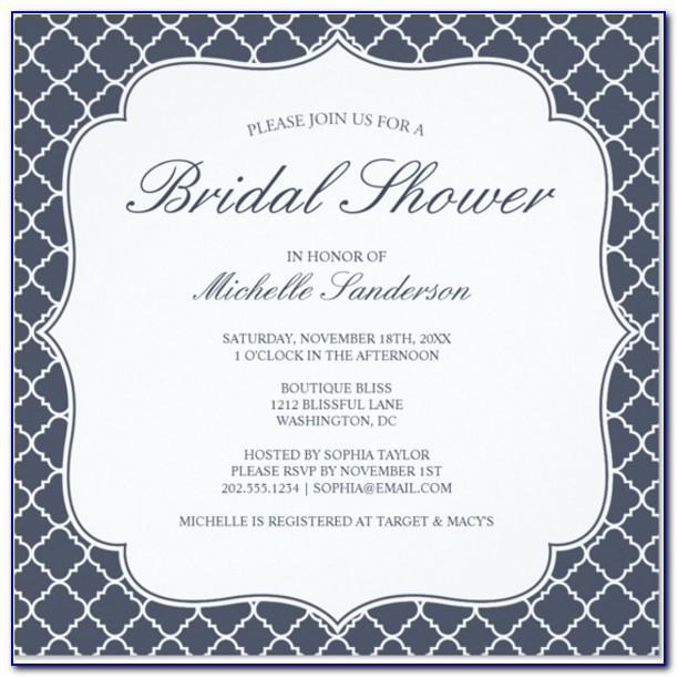 Formal Invitations Template