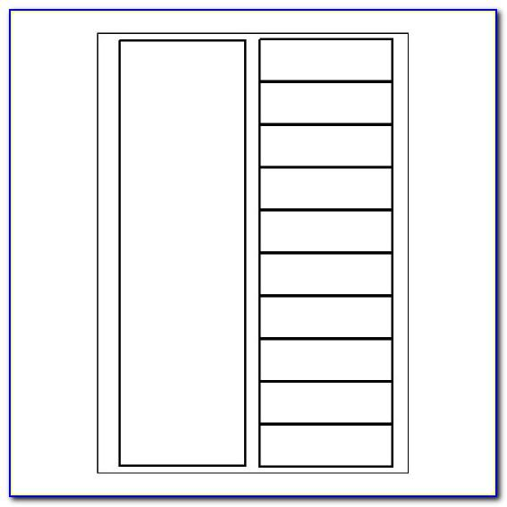 Free Avery 10 Tab Divider Template