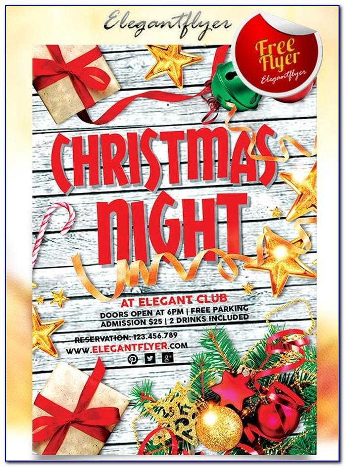 Free Christmas Flyer Template Download