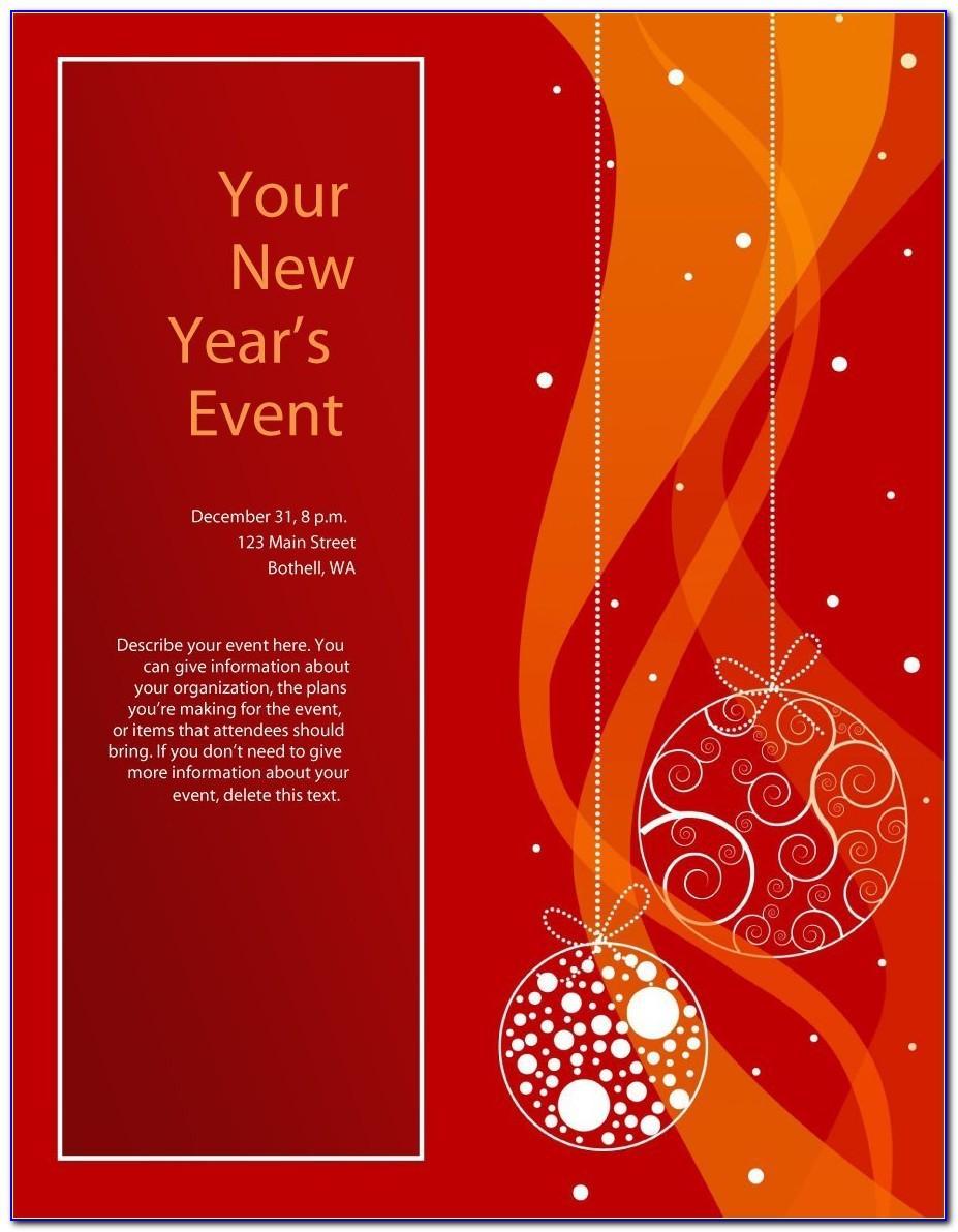 Free Christmas Flyer Templates Microsoft Word
