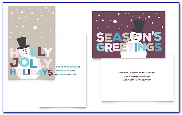 Free Christmas Recipe Card Template For Word