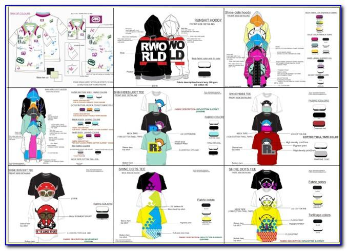 Free Clothing Line Sheet Template