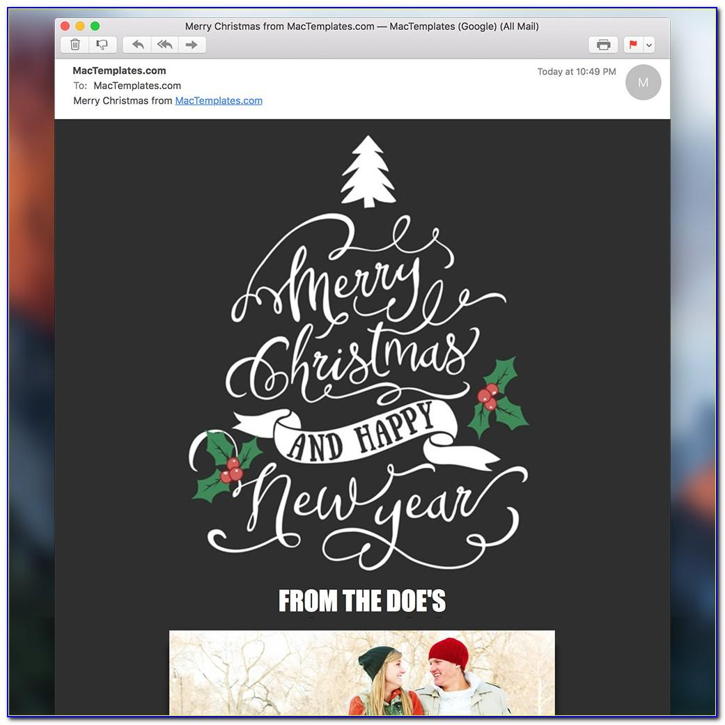 Free Email Xmas Cards Templates