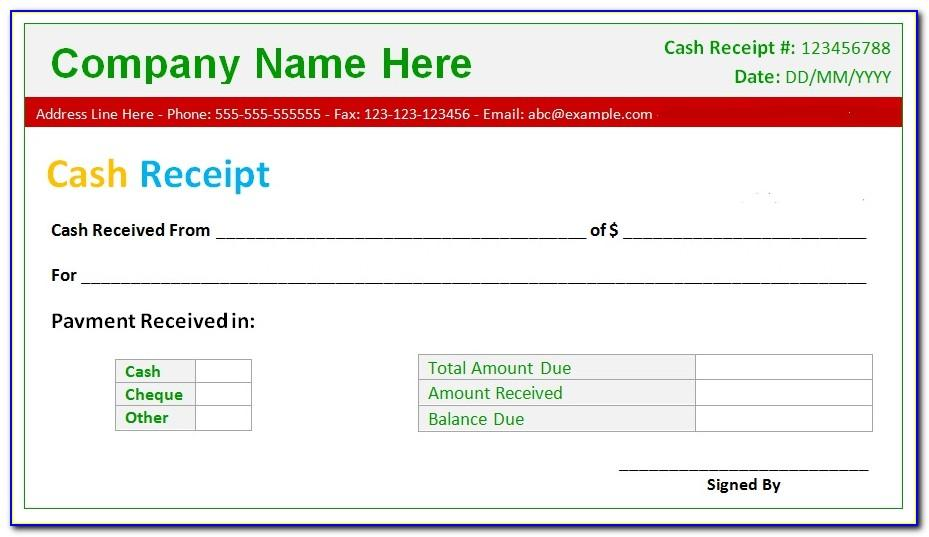 Free Excel Bill Payment Template