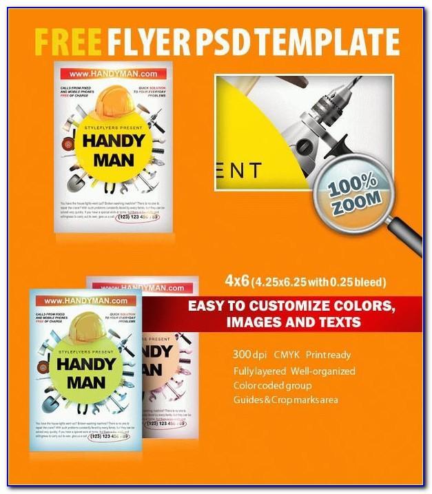 Free Handyman Flyer Templates