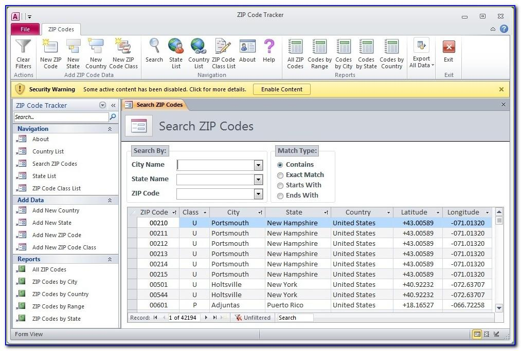 Free Microsoft Access Inventory Database Template