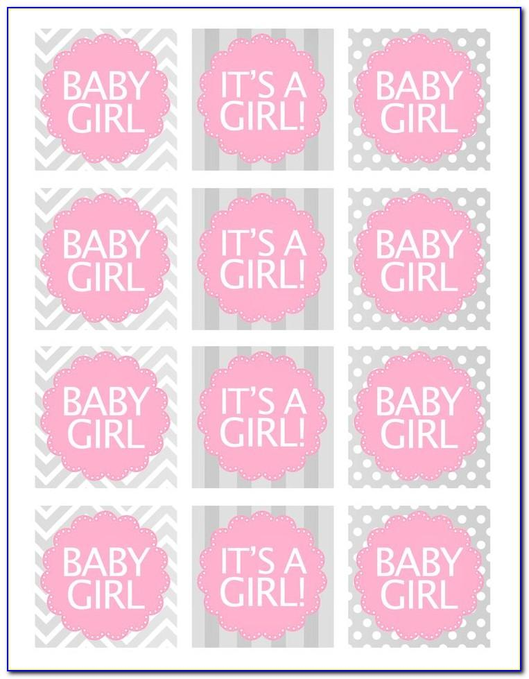 Free Printable Baby Shower Favor Tags Template Elephant