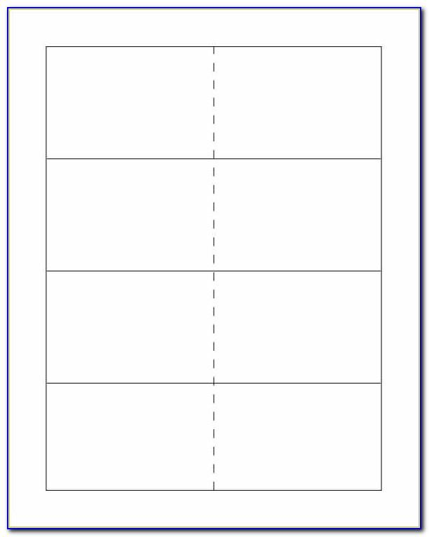 Free Printable Blank Note Card Template