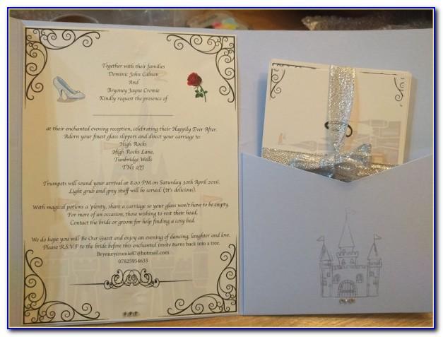 Free Printable Disney Wedding Invitations Templates