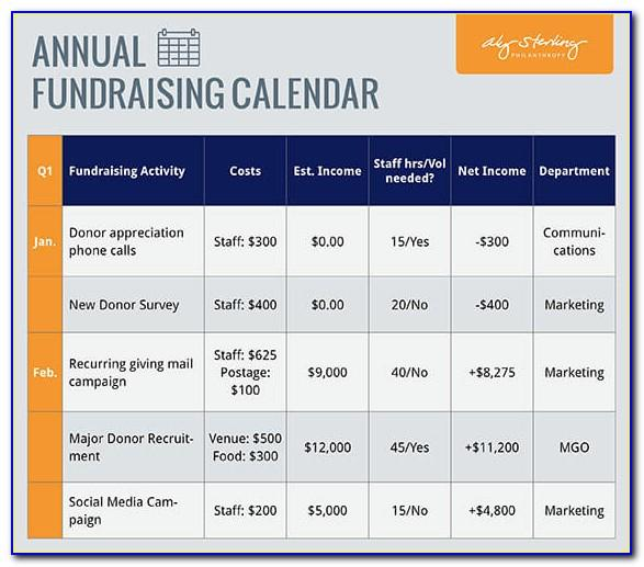 Fundraising Campaign Plan Outline