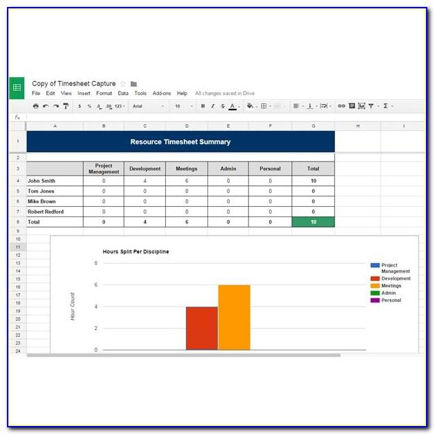 Google Docs Project Management Template