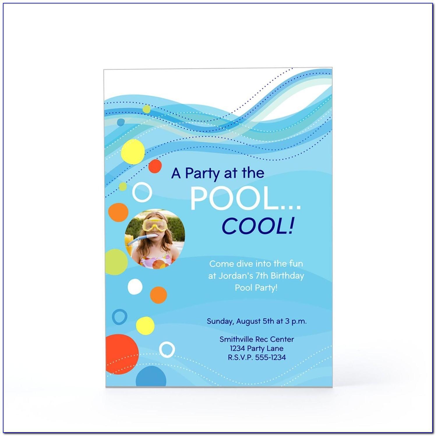 Hallmark Party Invitations Templates