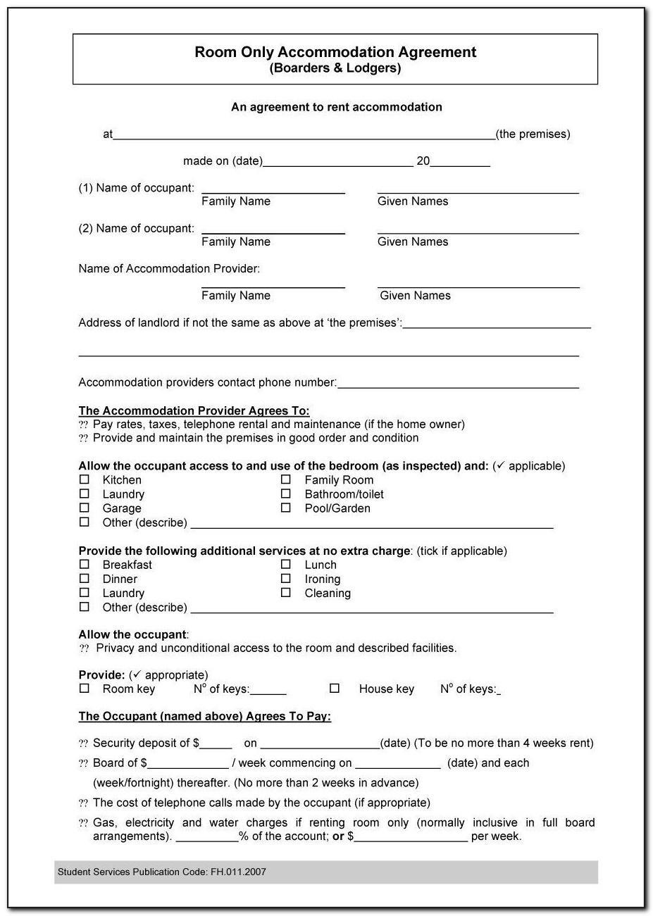 Housemate Agreement Template Uk