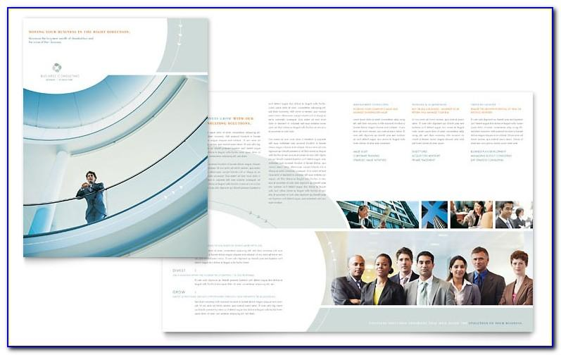 Hr Consulting Brochure Template Free