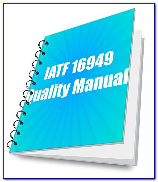 Iatf 16949 Quality Manual Template