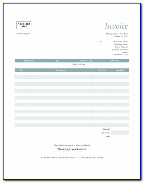 Import Custom Invoice Quickbooks Online