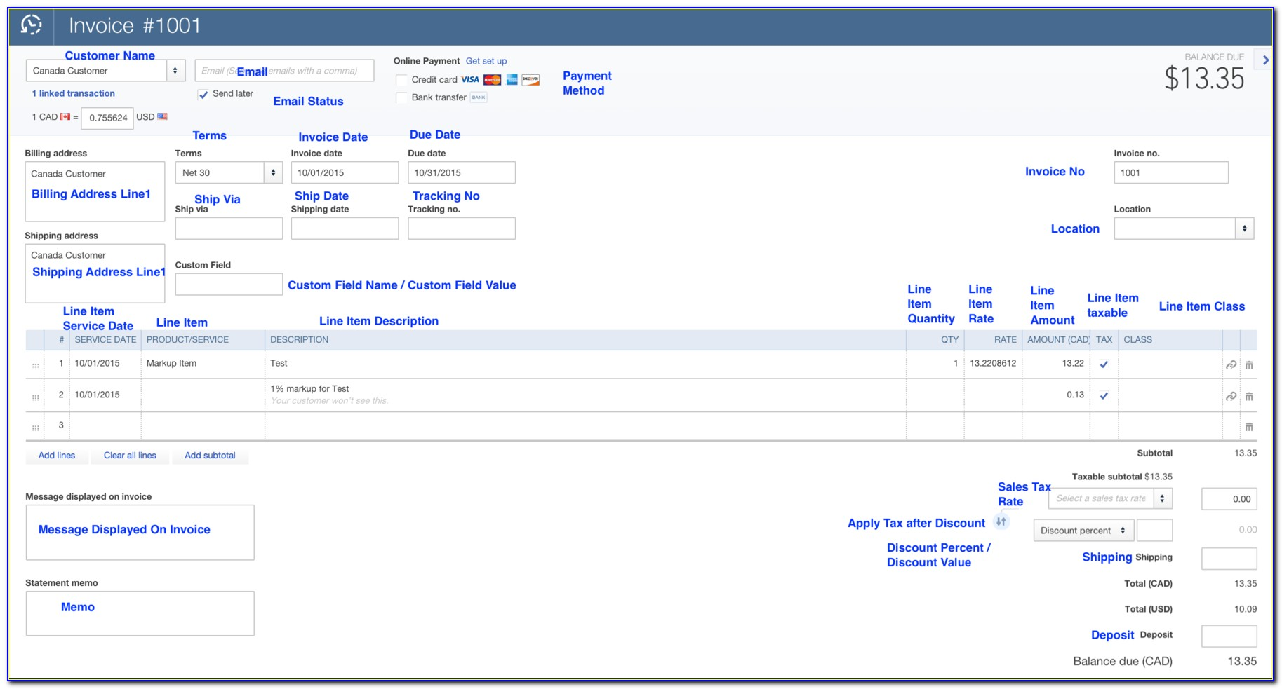 Import Invoices Into Quickbooks Premier