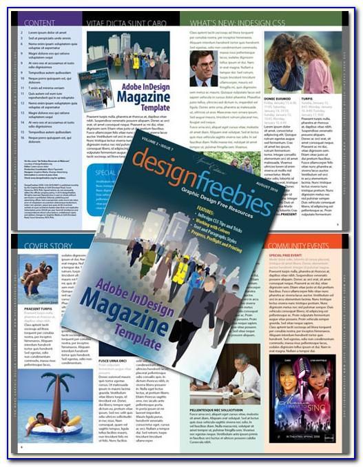Indesign Cs6 Templates Magazine