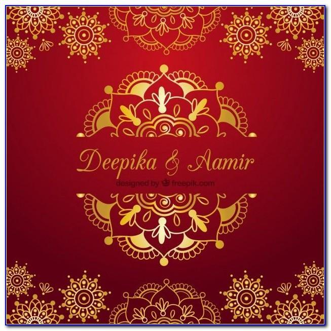 Indian Marriage E Invitation Templates