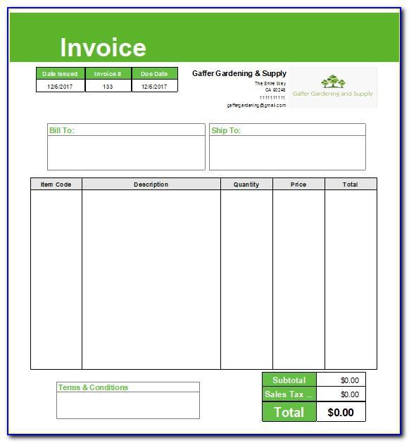 Intuit Quickbooks Customize Invoice Template