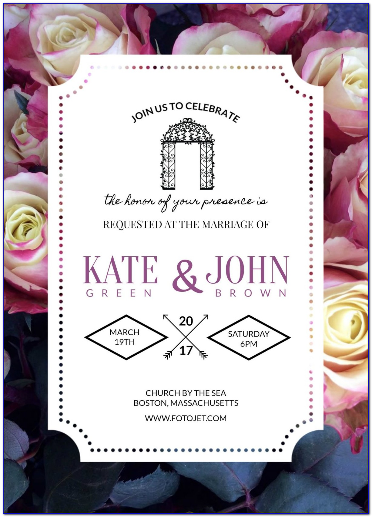 Invitation Template Maker Free Download