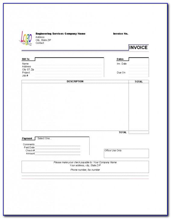 Invoice Template For Ipad Air