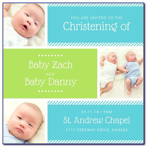 Lds Baptism Invite Template