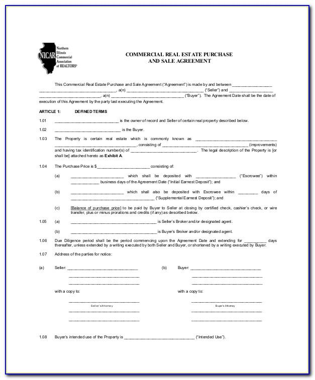 Lease Purchase Contract Example