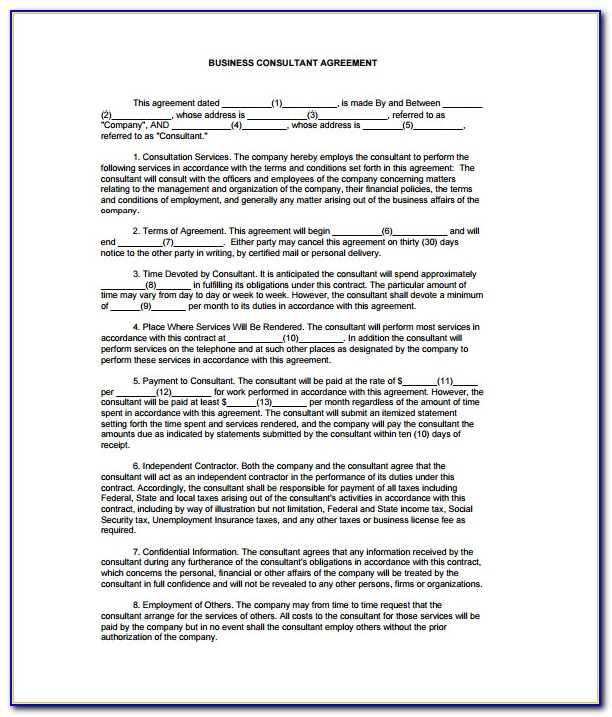 Legally Binding Sales Contract Template