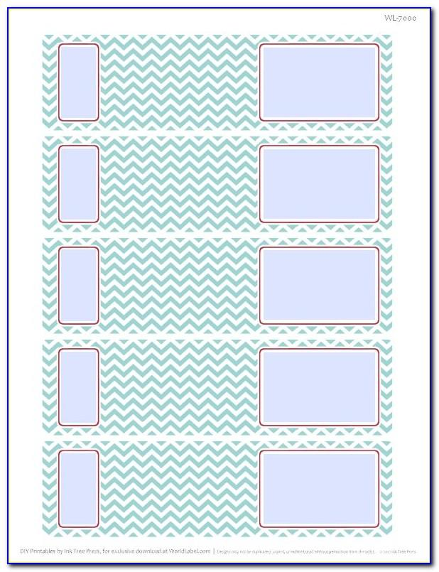 Letter Labels Templateletter Labels Template