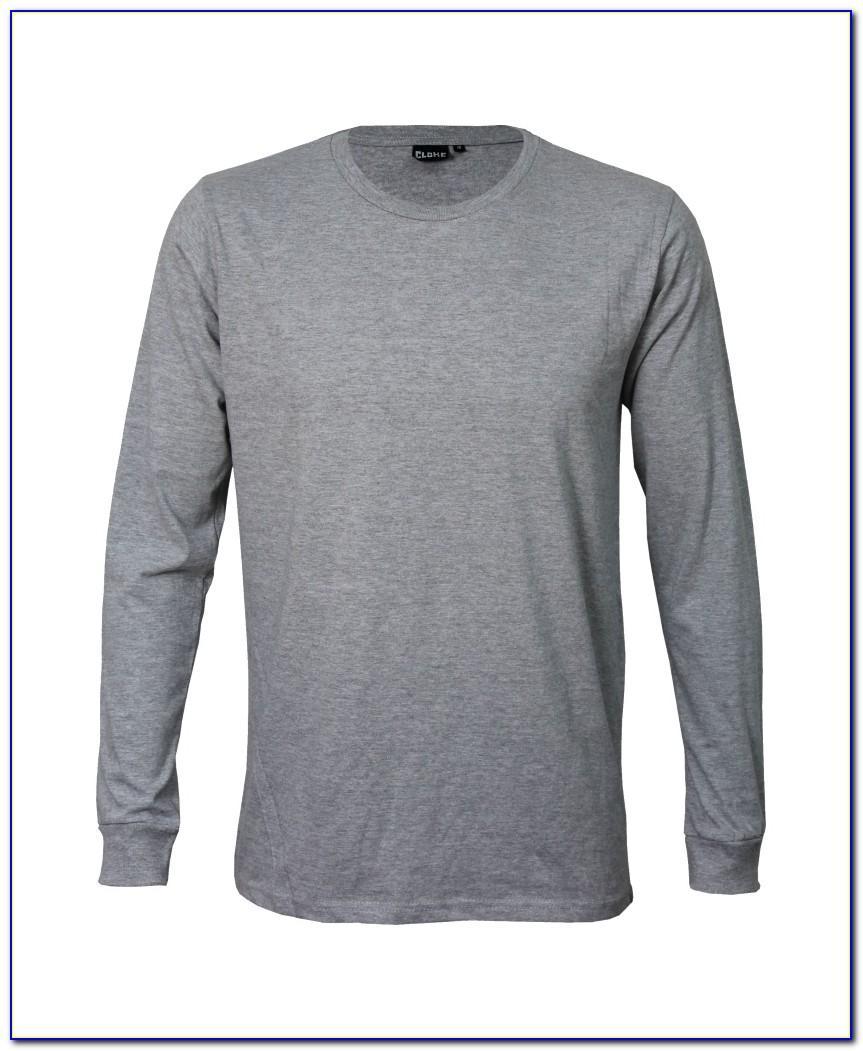 Long Sleeve Shirt Collar Design Template