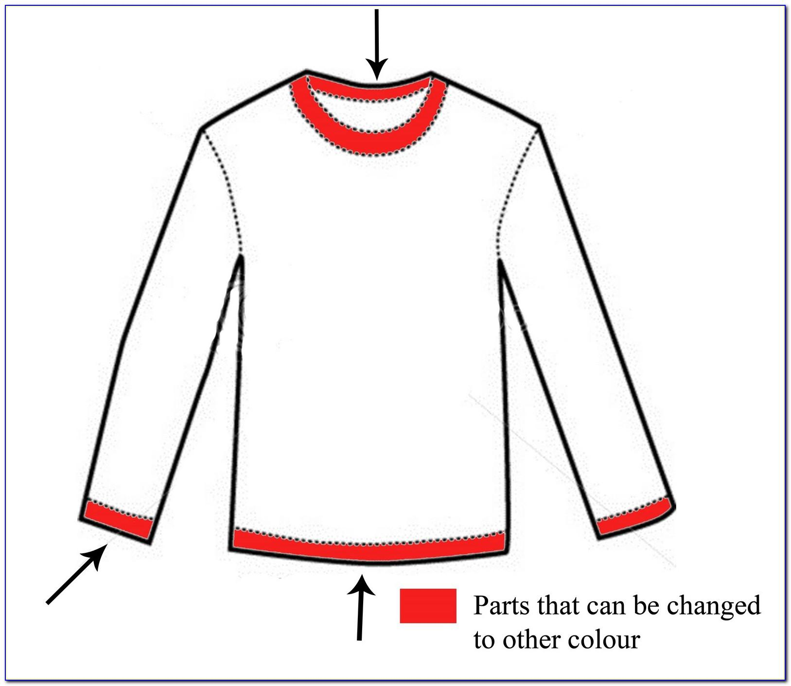 Long Sleeve Shirt Design Templates