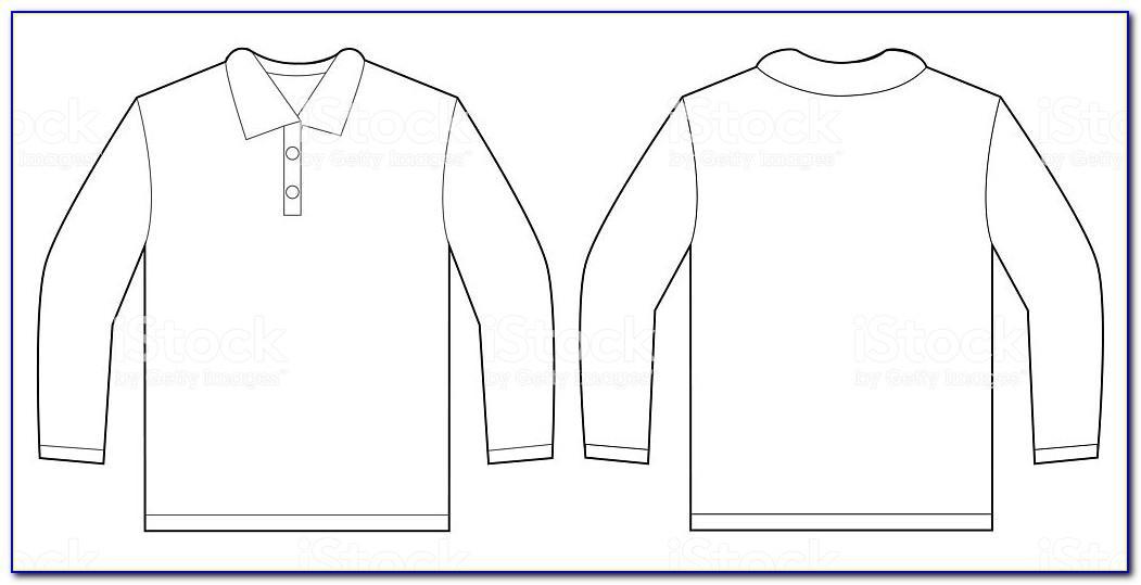 Long Sleeve T Shirt Design Template