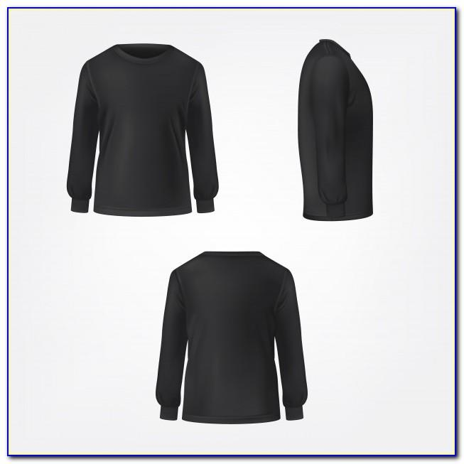Long Sleeve T Shirt Design Templates