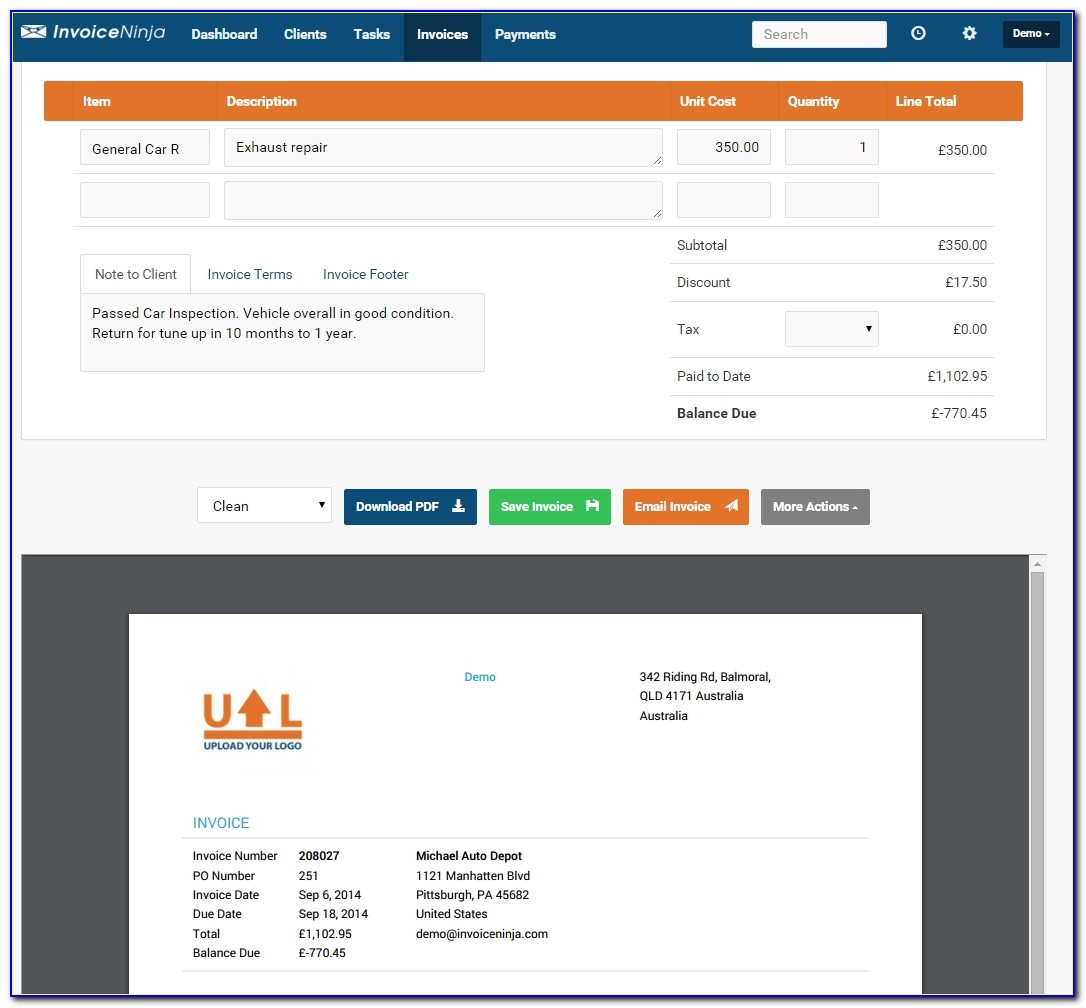 Lps Invoice Management Contact