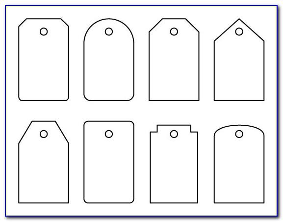 Luggage Tag Design Template Free Download