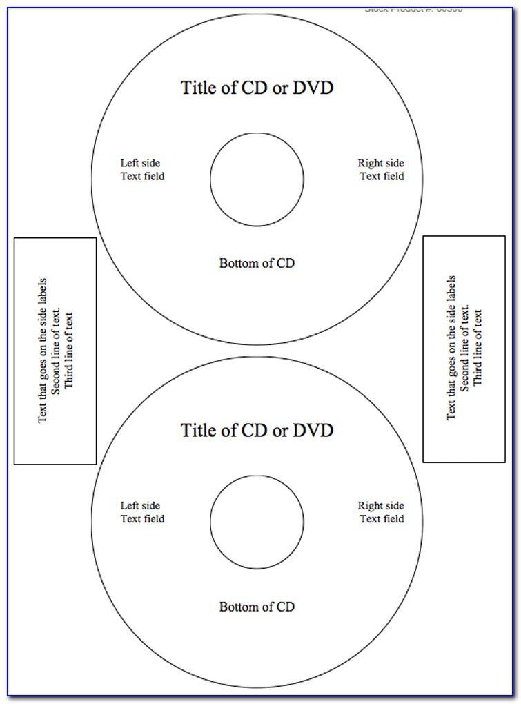 Memorex Dvd Label Template Free Download