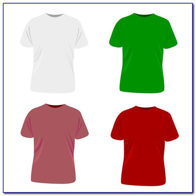 Model T Shirt Template Vector Free Download