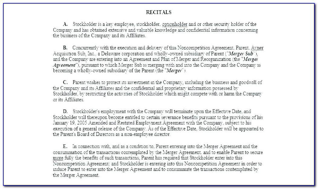 Nominee Shareholder Agreement Template