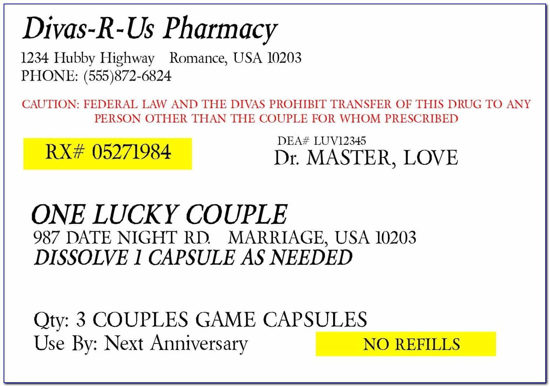 Old Medicine Bottle Label Template