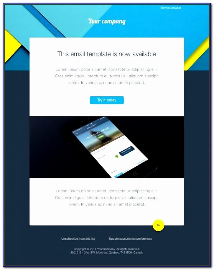 Outlook Email Blast Templates