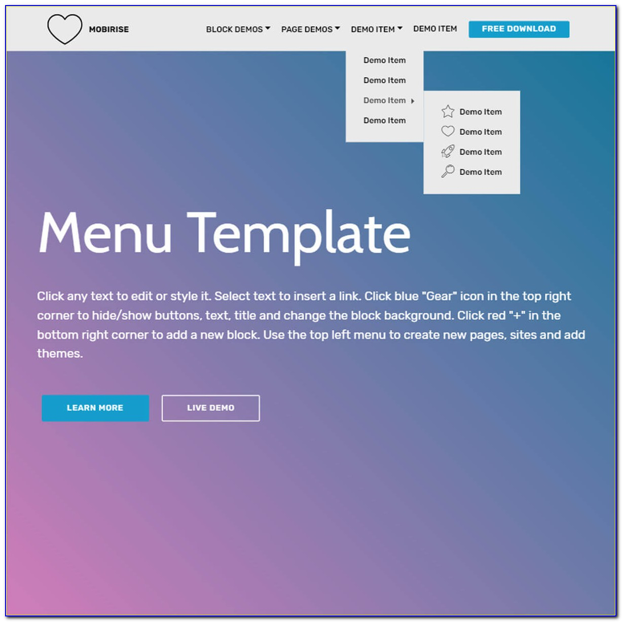 Parallax Website Templates In Bootstrap