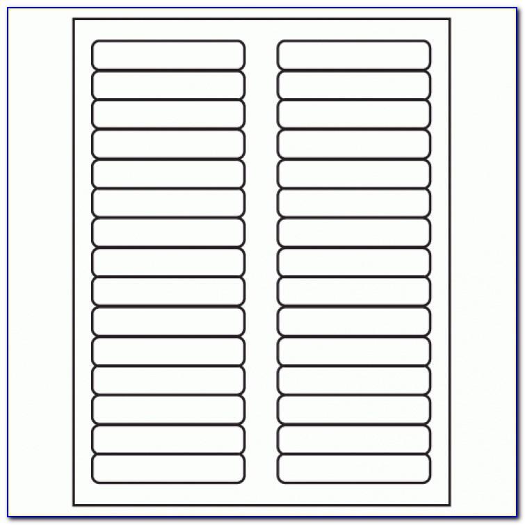 Pendaflex Folder Tab Template