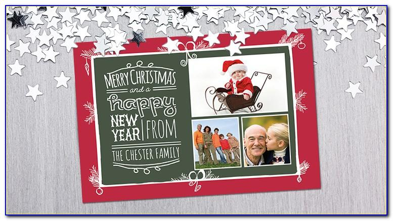 Photo Christmas Card Templates Free Download