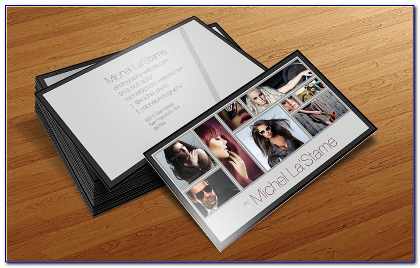 Photography Business Card Template Photoshop