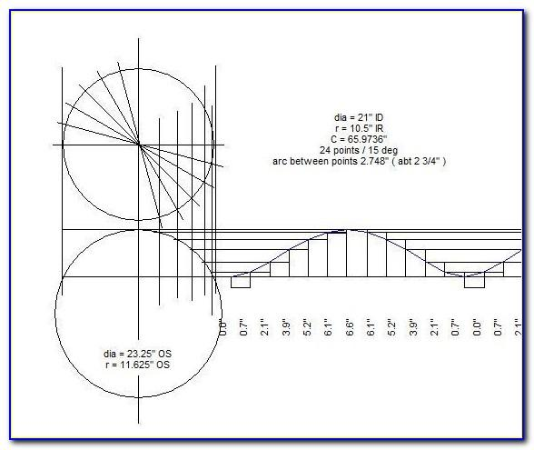 Pipe Cutting Template Free Download